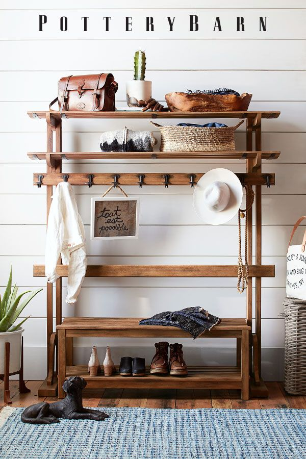 pottery barn has everything you need to revamp your entryway like rh pinterest es