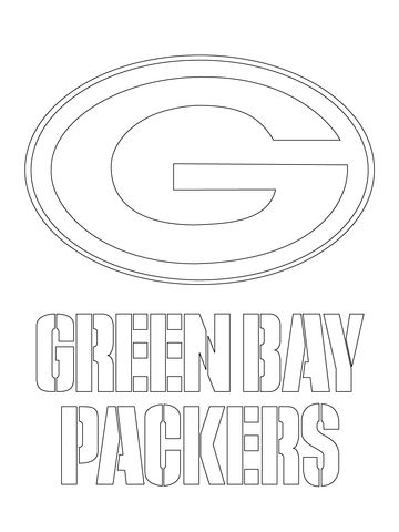 Green Bay Packers Logo Coloring Page Free Printable Coloring Pages Green Bay Packers Logo Green Bay Packers Football Green Bay Packers