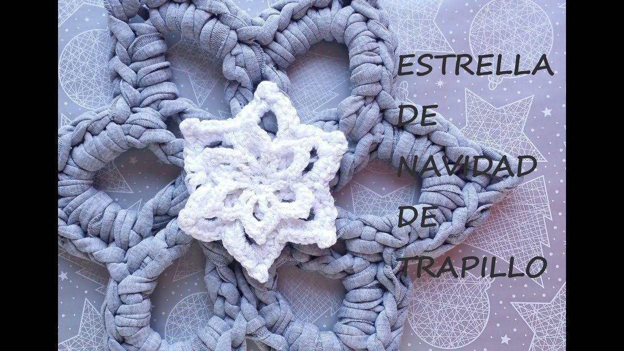 Estrella De Navidad Ganchillo Christmas Star Crochet Navidad - Navidad-ganchillo