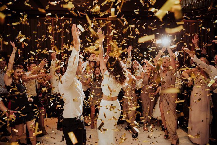This Wedding Reception Playlist is Guaranteed to Get Your Guests on the Dance Floor #weddingreception