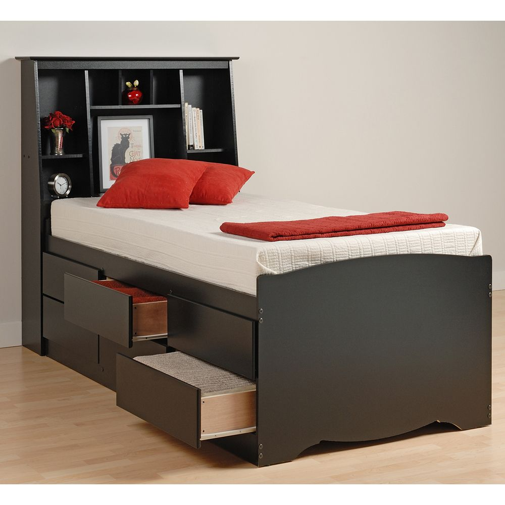 Sonoma Captain S Bed W Tall 619 With