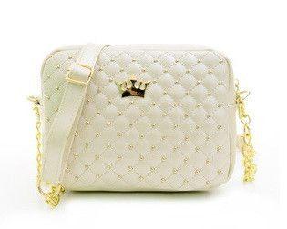 2016 Hot Sale Women Pu Zipper Rivet Crossbody Women Bag