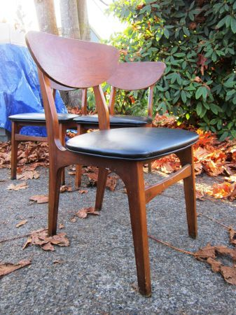 seattle mid century furniture. Seattle: Mid Century Modern Garrison Dining Chair / Side $35 - Http:/ Seattle Furniture L