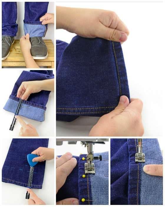 14 Astuces pour faire ses propres retouches de vêtements   Technique ... a5db05e3728e