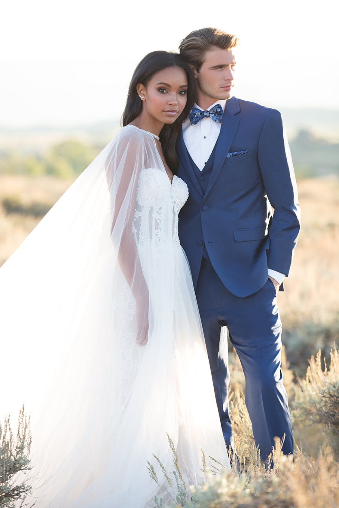 Gorgeous Interracial Couple On Their Wedding Day Love  -1732