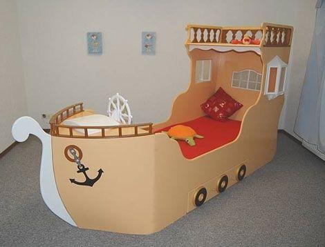 cabecera de cama barco