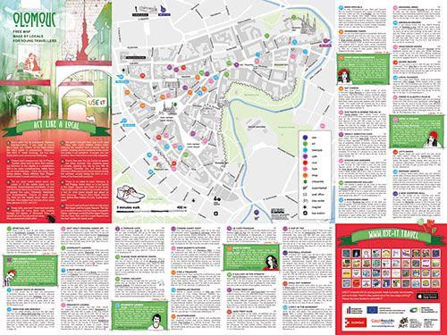 Download Olomouc City Map City Maps USE IT Pinterest City
