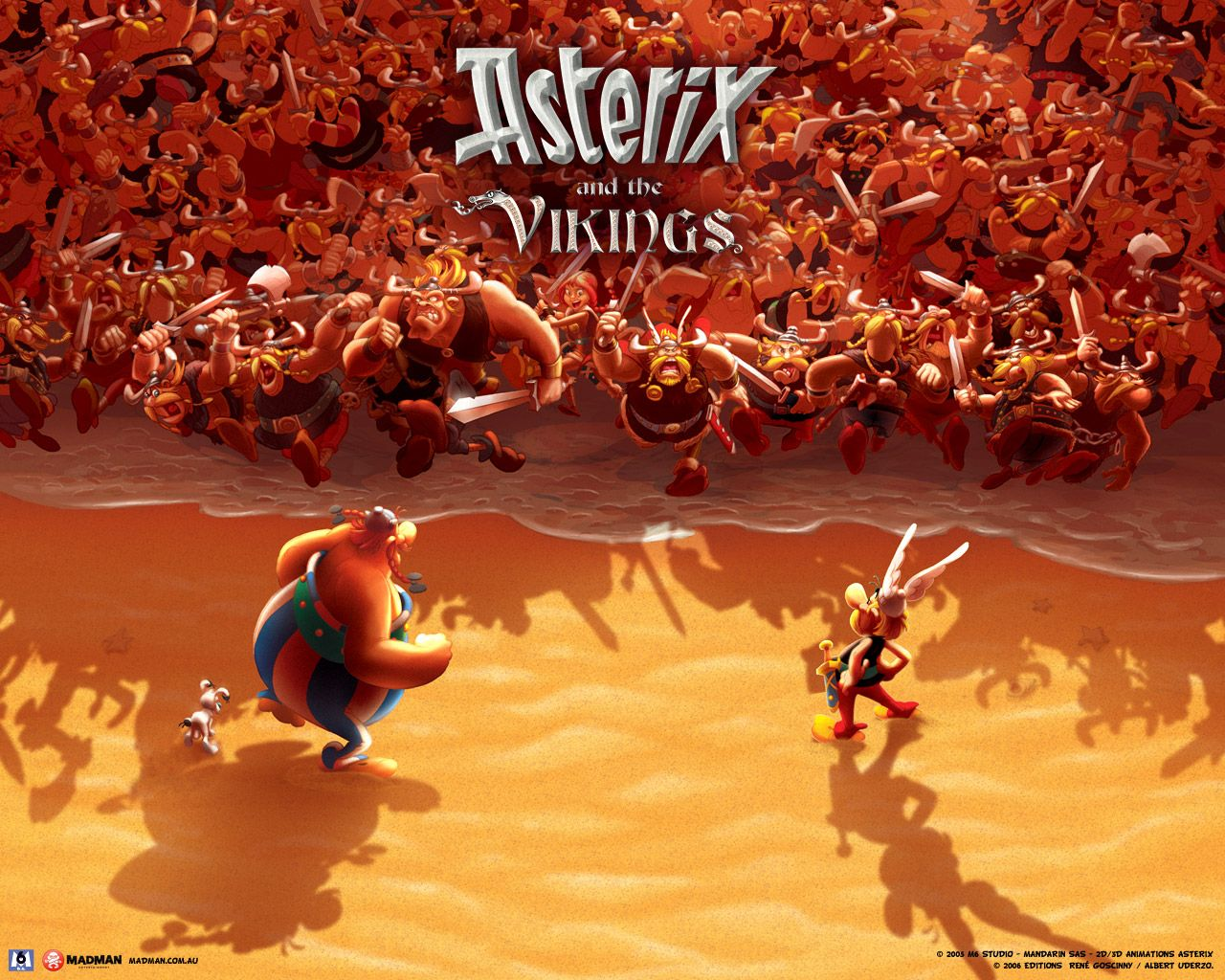 Asterix and the Vikings is an animated feature film, produced in France and Denmark, and directed by Stefan Fjeldmark and Jesper Møller. Description from cartoon-excellence.com. I searched for this on bing.com/images