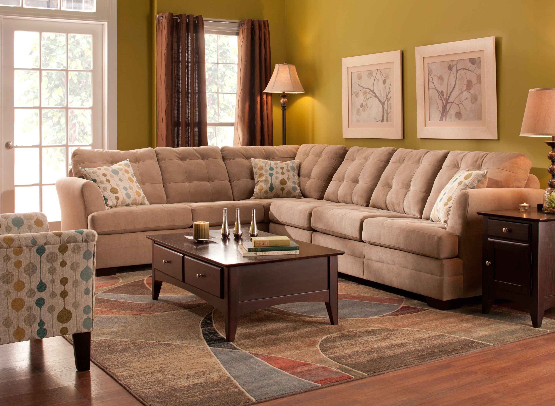 Hayden 3 Pc Sectional Sofa Sofa And Loveseat Set Stylish