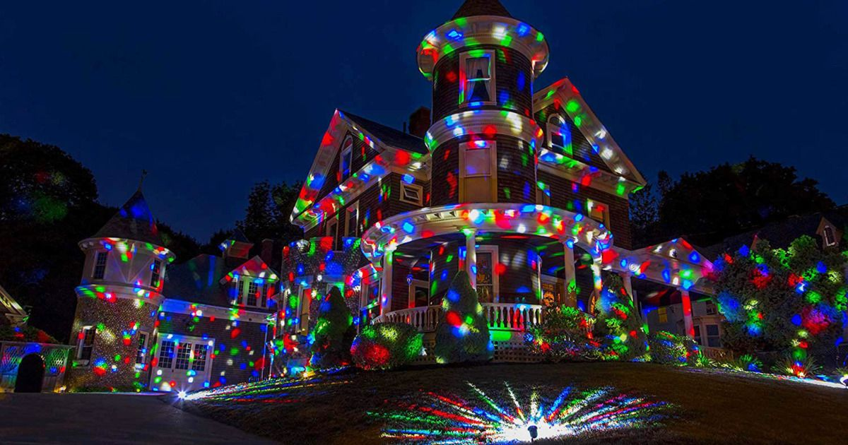 The Best Christmas Light Projectors On Amazon According To Reviewers Outdoor Christmas Light Projector Best Christmas Lights Christmas Light Projector