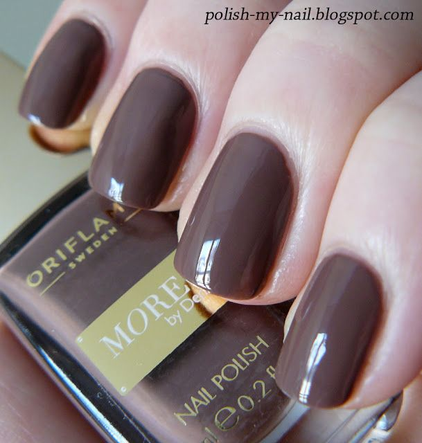Oriflame - Daring Brown nail polish