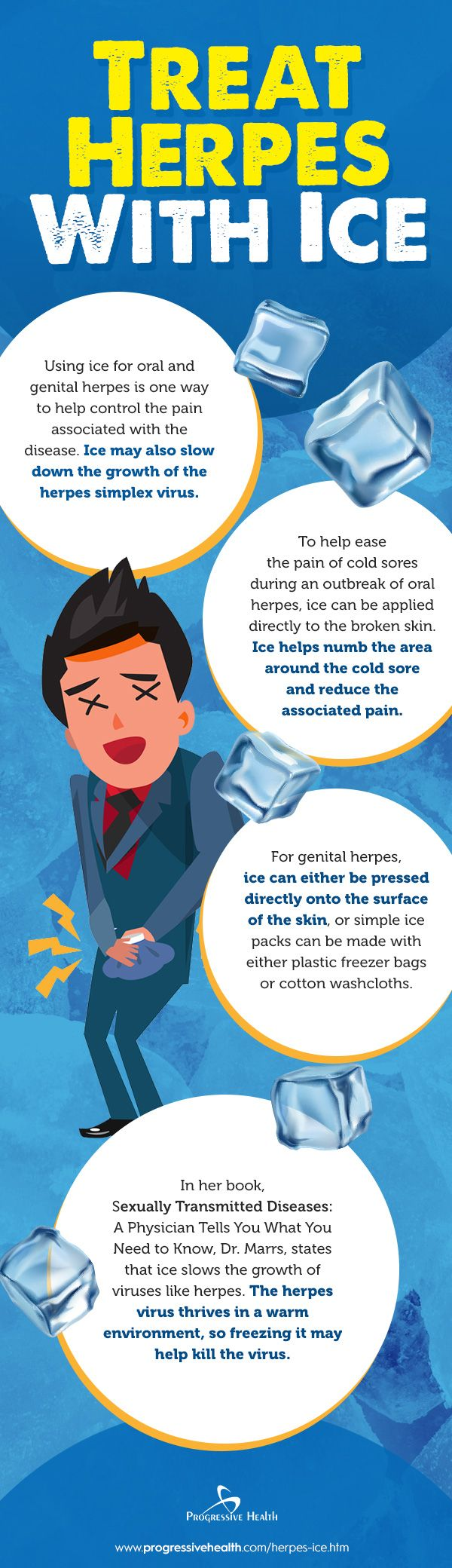 Does Ice Help Treat Herpes? - pinphotos info