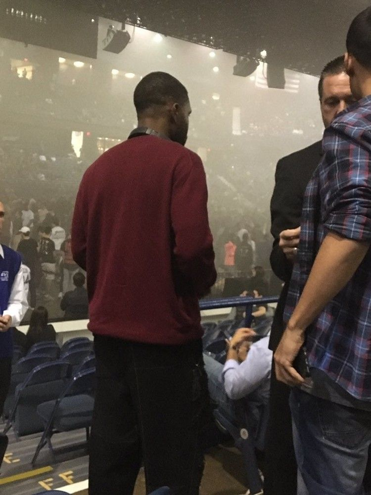 Frank Ocean Was Allegedly Spotted At Kanye West S Saint Pablo Tour Stop In Chicago The Fader Saint Pablo Tour Saint Pablo Frank Ocean
