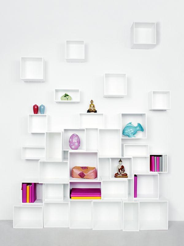 Lovely Einfache Dekoration Und Mobel Cubit Das Modulare Regal System #2: Cubit U2013 Das Modulare Regalsystem Mit Dem Cleveren Stecksystem - #Möbel