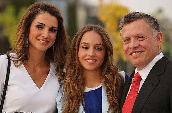 Rania de Jordania, en la graduación de su hija Imán: 'No podría estar más orgullosa' #realeza #royalty