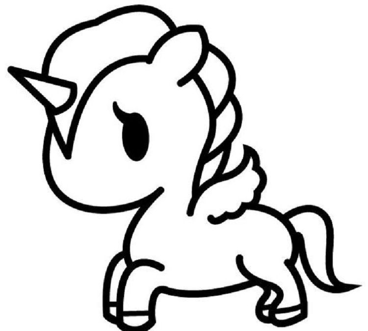 My Little Pony Bany Pony Coloring Pages Dessin Licorne Facile