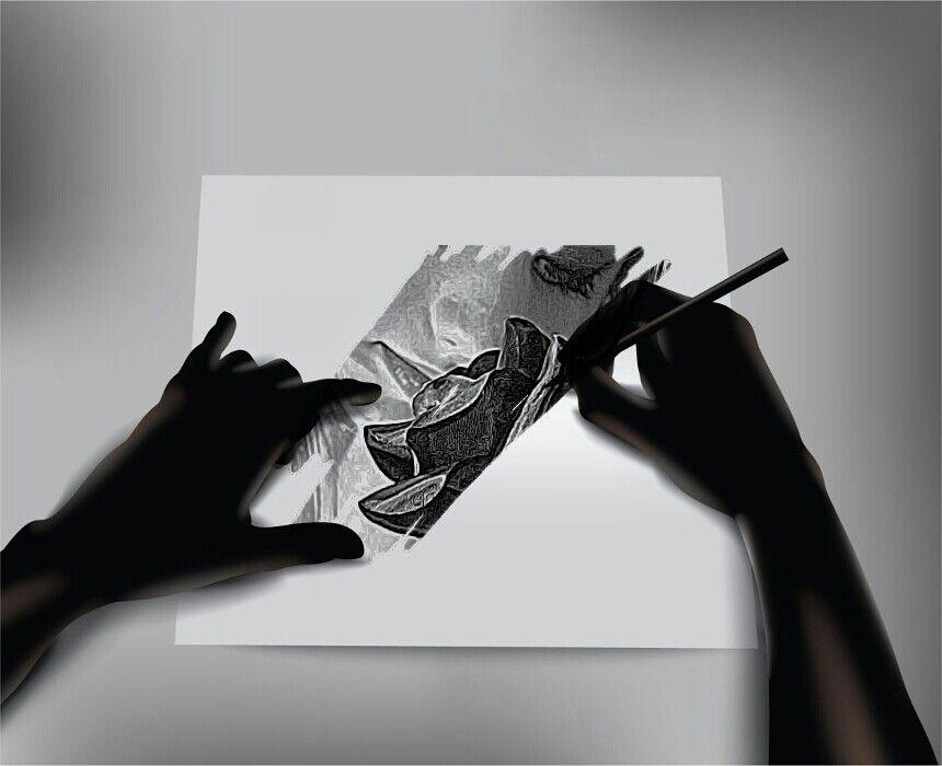 SuperPhoto hand sketch