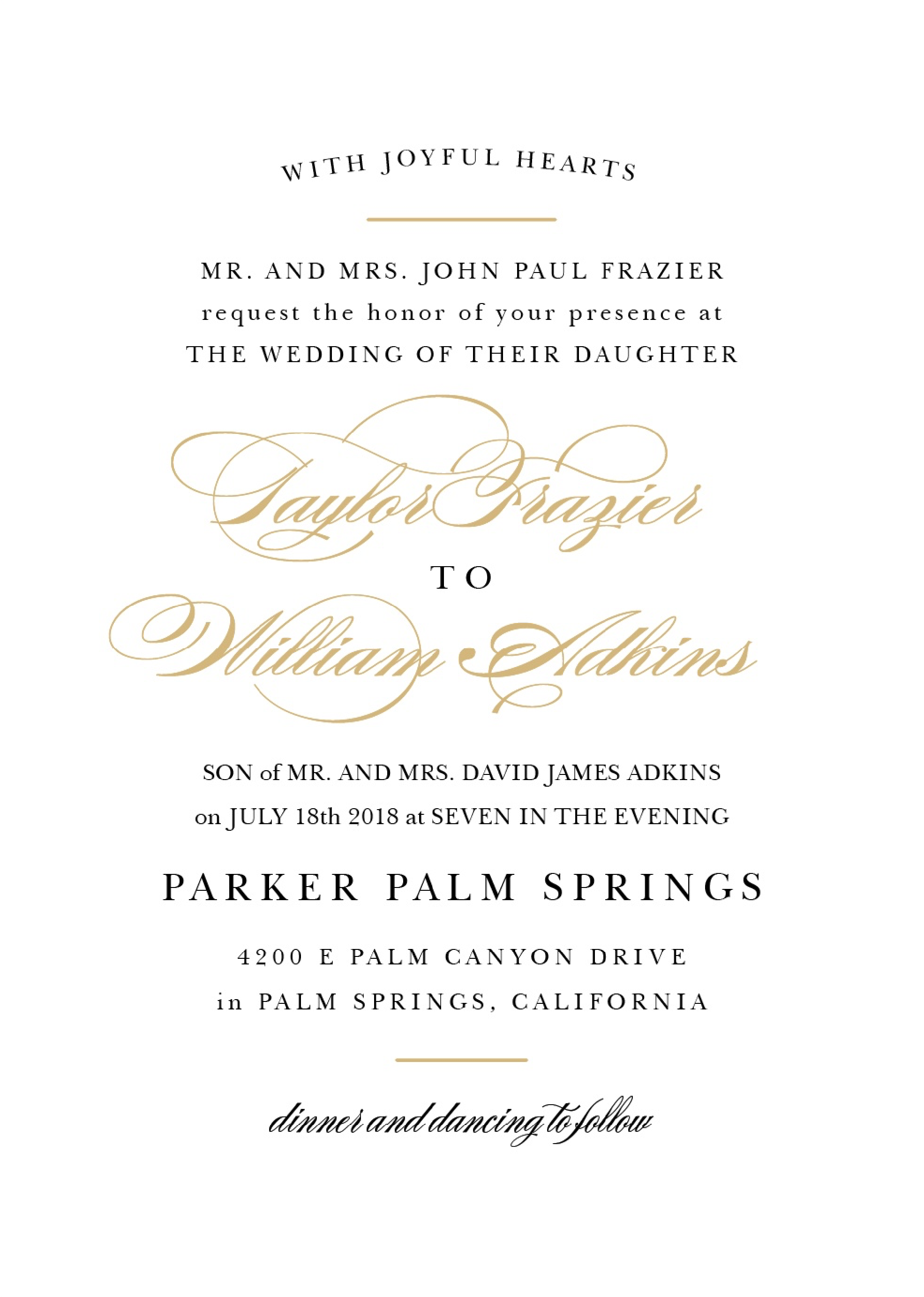 Wedding Invitation Wording Samples Wedding Invitation Wording Examples Wedding Invitations Examples Wedding Invitation Wording Templates