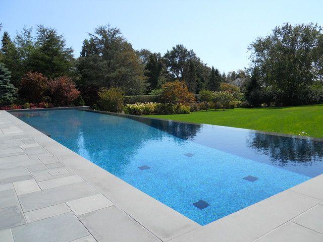 Concrete Swimming Pool Design - Negative Edge Pool | paul board ...