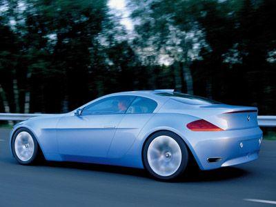 1999 BMW Z9 Gran Turismo designed by Chris Bangle. 3.9liter V8 Turbo ...