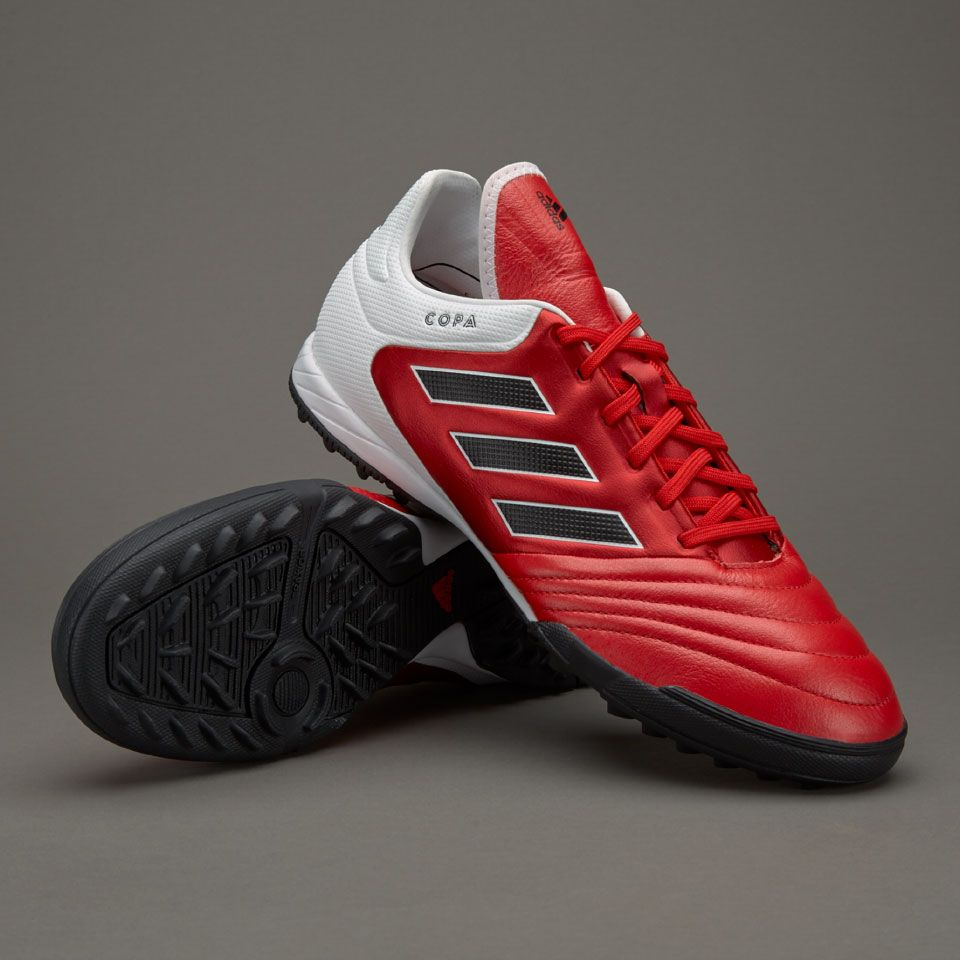 adidas Copa 17.3 TF - Mens Boots - Turf Trainer - Red/Core Black/White