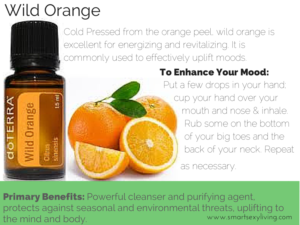 """Looking for a Natural Way To Stay Happy? Check out #doTERRA's """"Sunshine In A Bottle"""""""