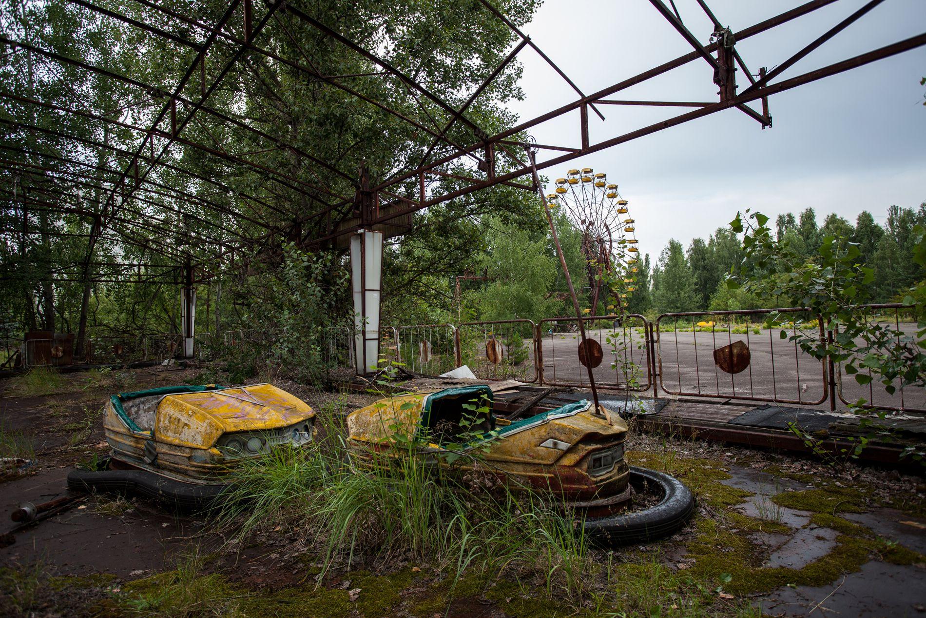 Abandoned city of Pripyat, Ukraine: Completely abandoned now