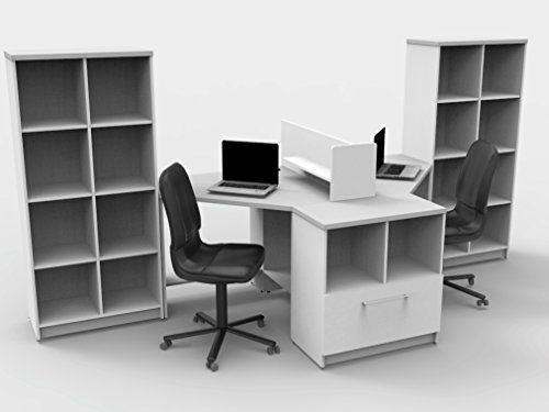 teamtimeoffice 6 piece corner desk the key commercial grade team rh pinterest co uk