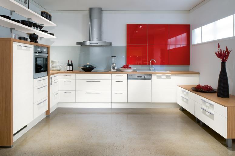 Diseño de cocina con puertas en cristal | kitchen color | Pinterest ...