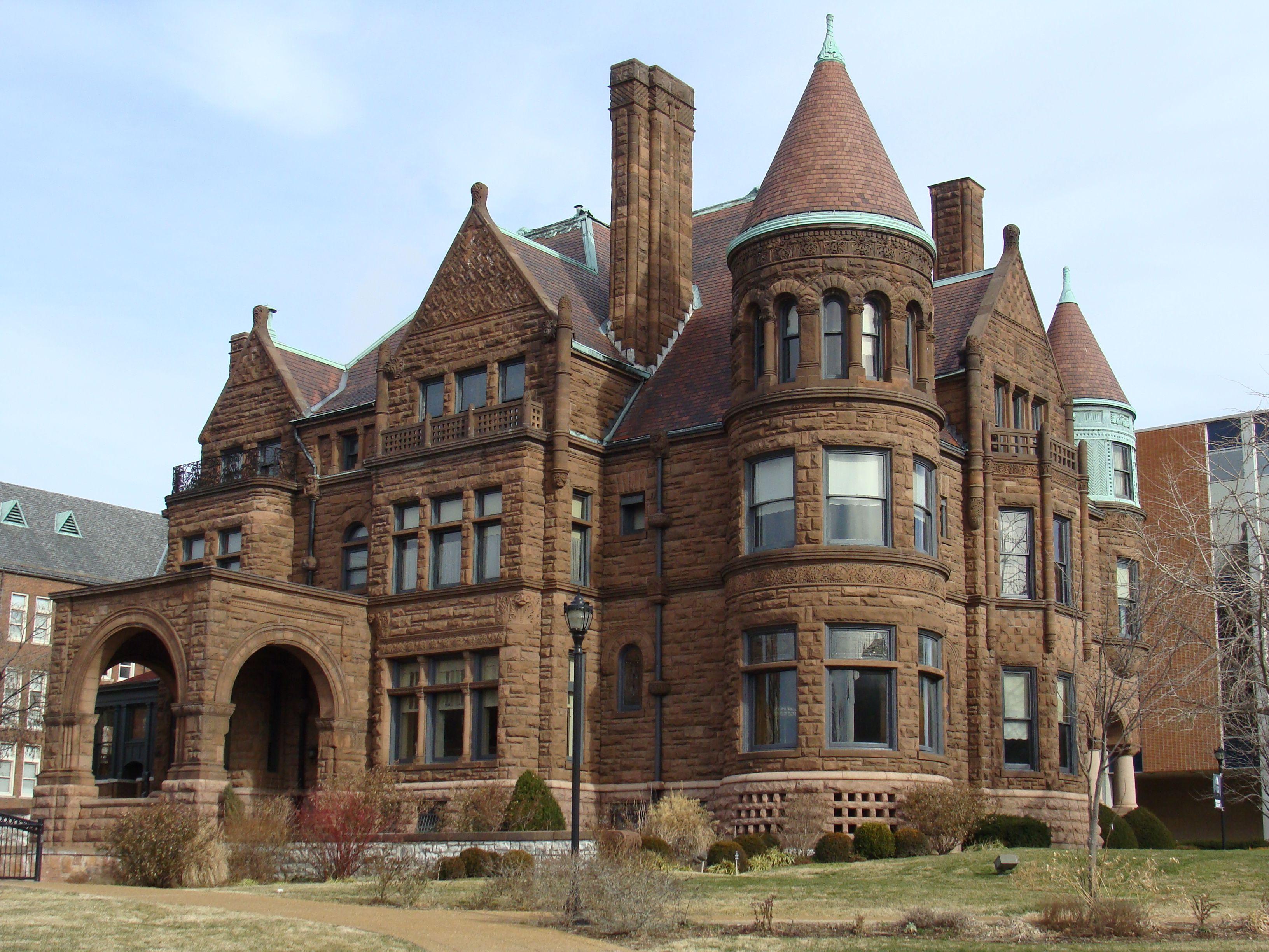 St Louis Forest Park Houses SLU