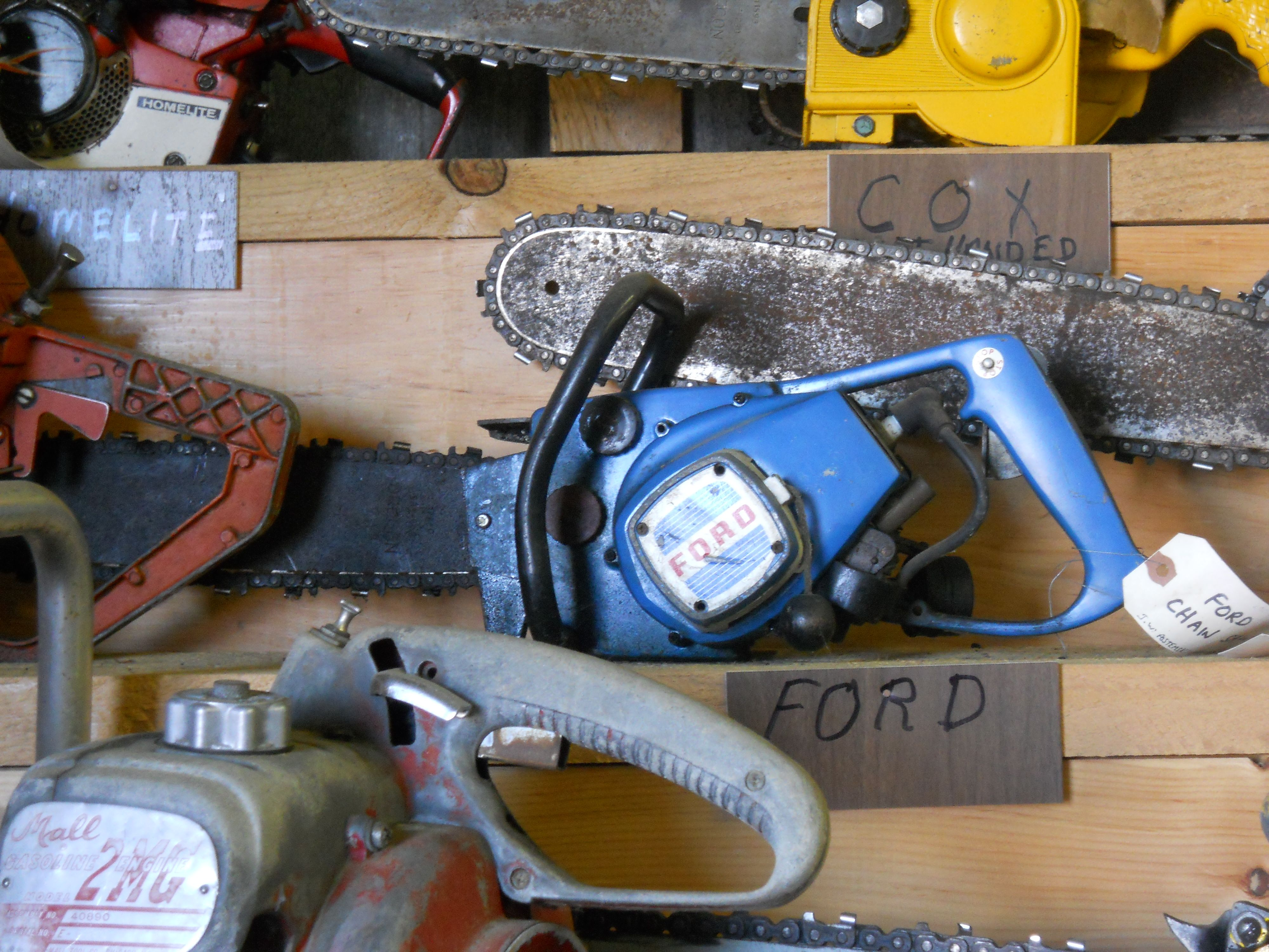 Pin By Brandon Nova On Chainsaws Ford Tractors Chainsaws Chainsaw