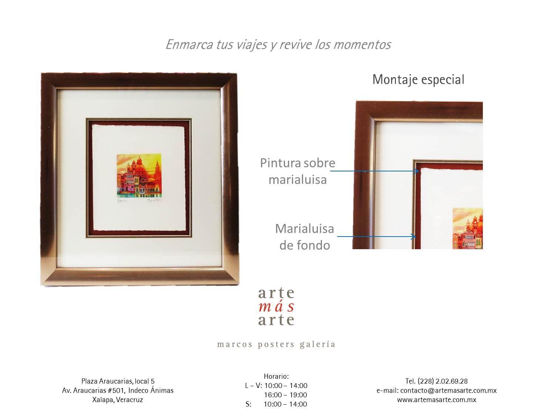 Atractivo Marcos De Cuadros Chicago Elaboración - Ideas de Arte ...