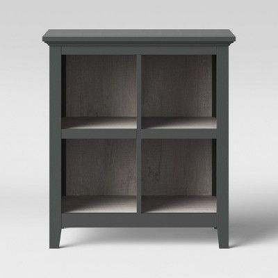 37 2 carson 4 bin organizer bookcase gray threshold in 2019 rh pinterest com