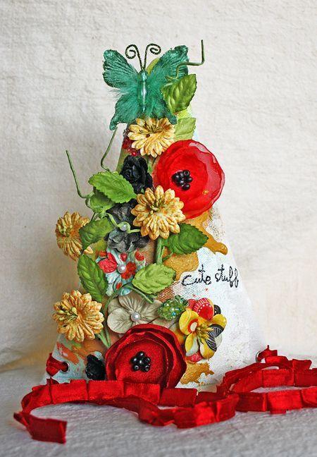 Prima Canvas Party Hat by Heidi Kelley