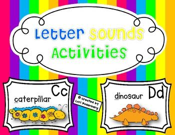 """Help your students learn their letter sounds while having fun singing to Jack Hartman's """"Learning Letter Sounds"""" song from """"Shake, Rattle and Read"""" and """"I've Got Music In Me"""" CDs."""