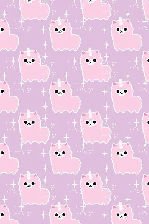 llama backgrounds Google zoeken Goth wallpaper, Kawaii