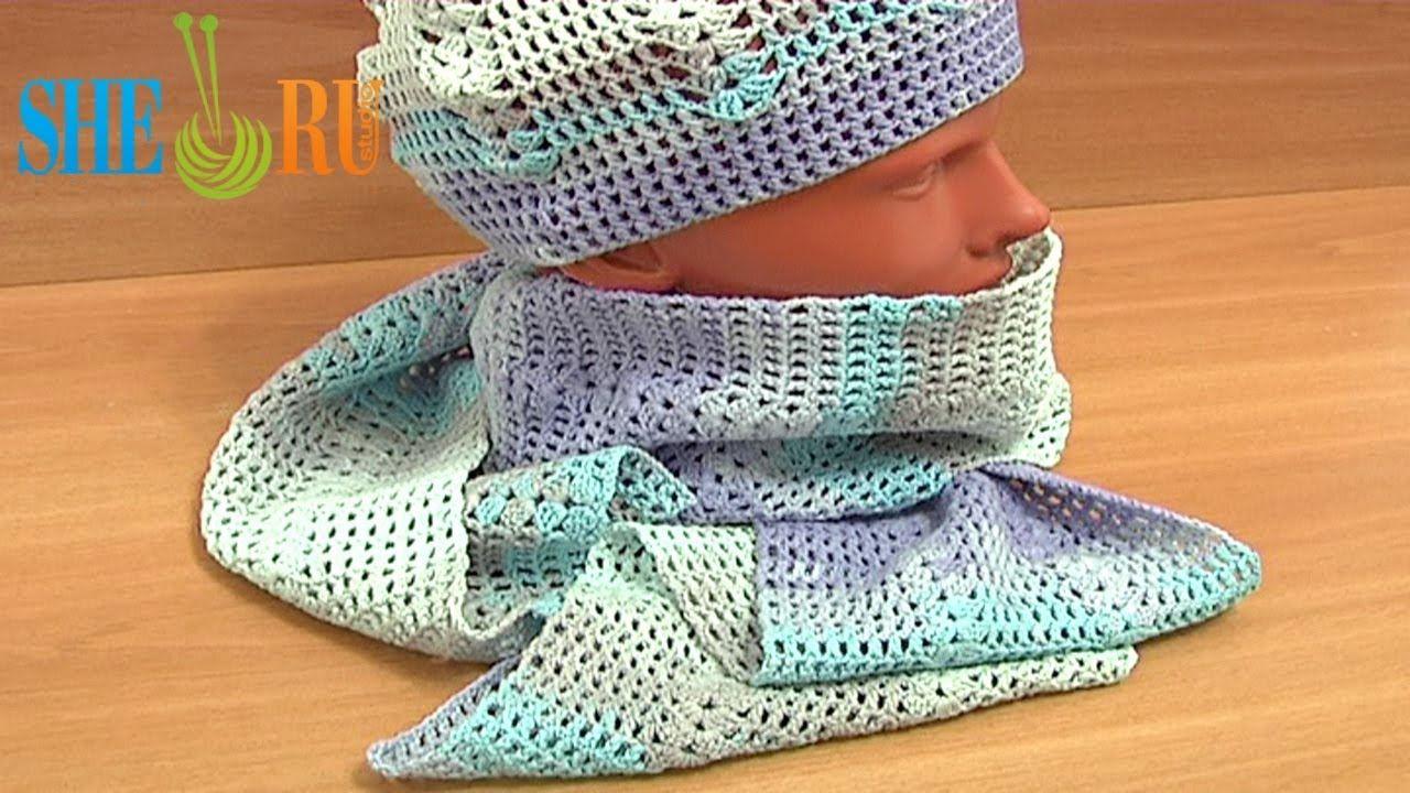 Crochet Summer Hat Pattern for Beginners Tutorial 4 Part 2 of 3 ...