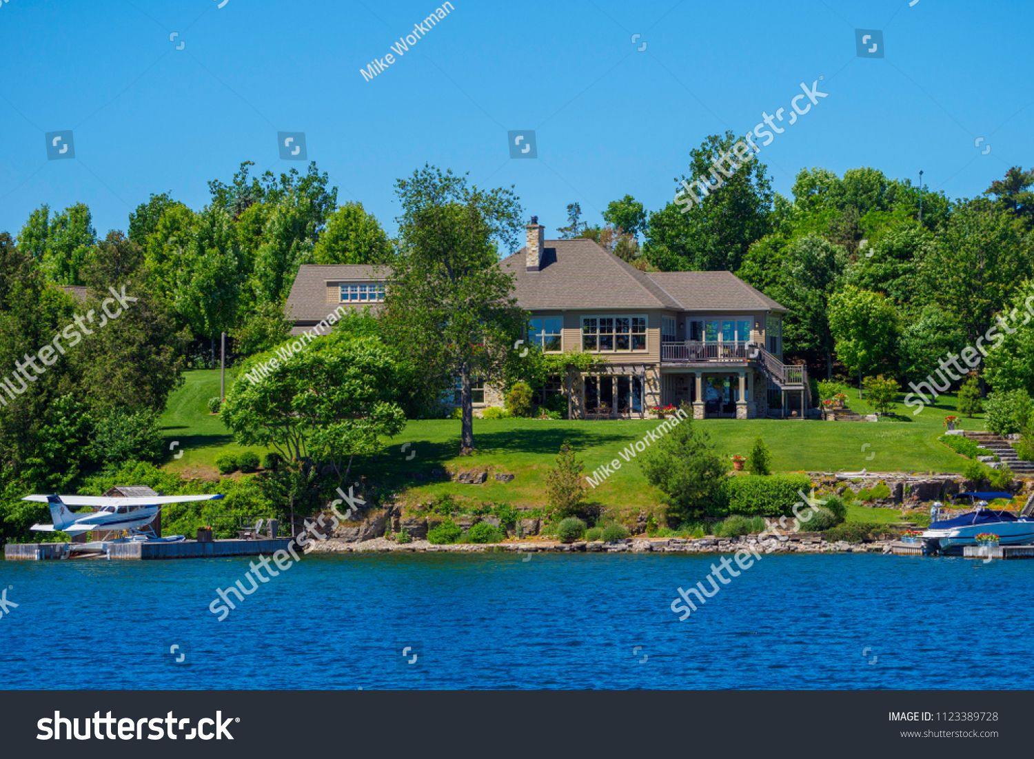 kingston ontario canada june 20th 2018 luxury house on the river rh pinterest com