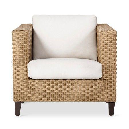 www target com p fullerton wicker patio club chair threshold a rh pinterest com