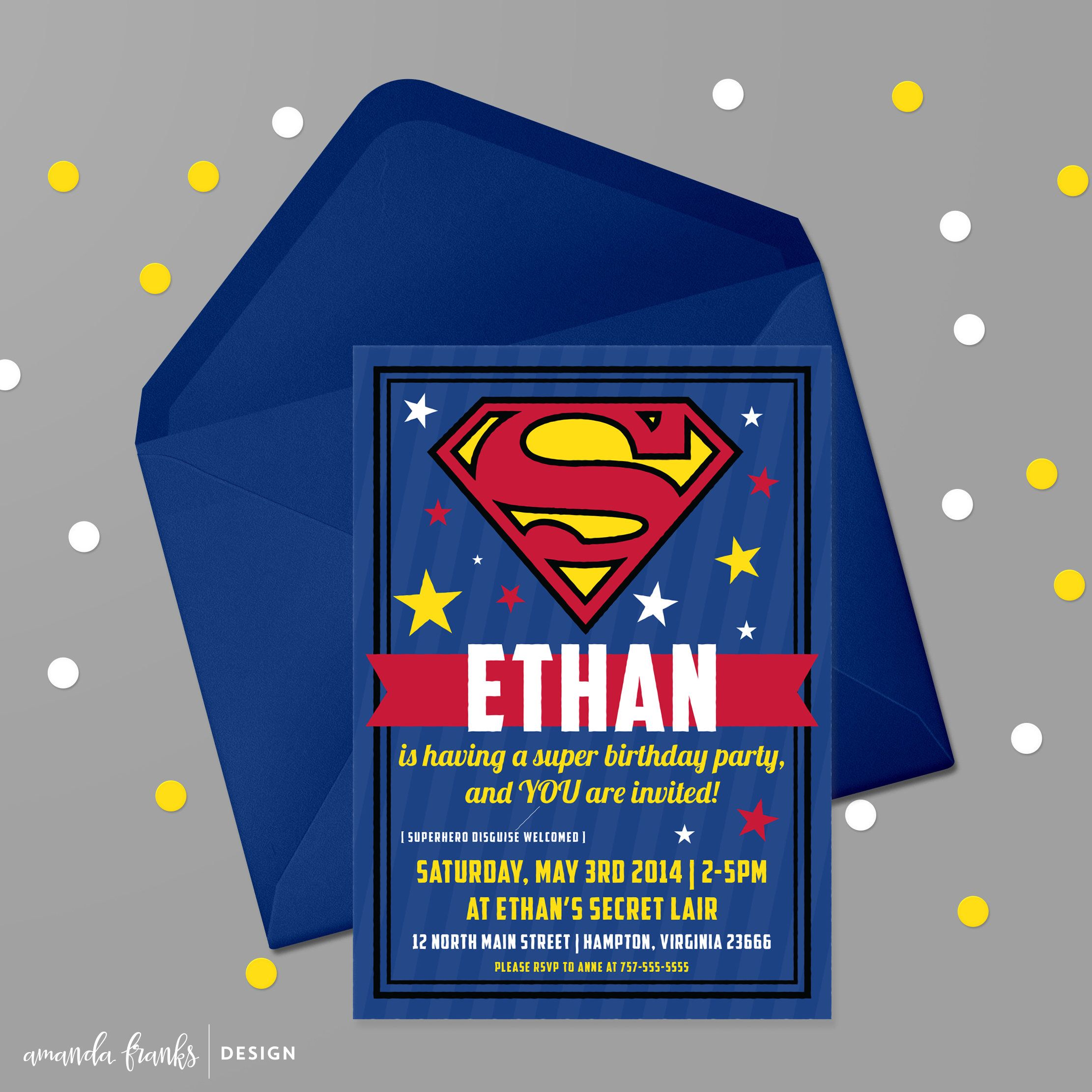 pin by bobbi arington on graduation superman party superman rh pinterest com