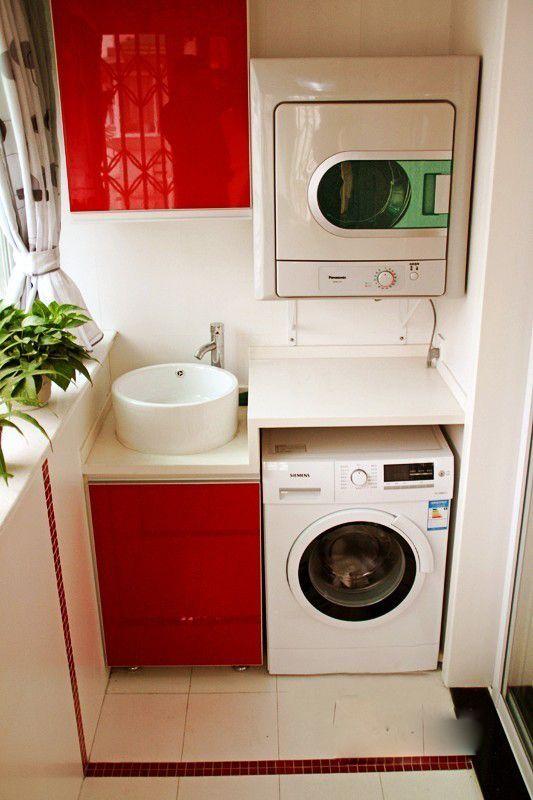 Laminate Flooring Laundry Room Design Condo Interior Design