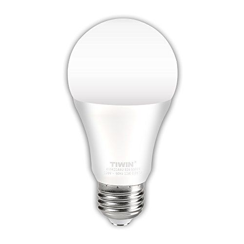 Tiwin A19 E26 Led Bulbs 100 Watt Equivalent 11w Daylig Led
