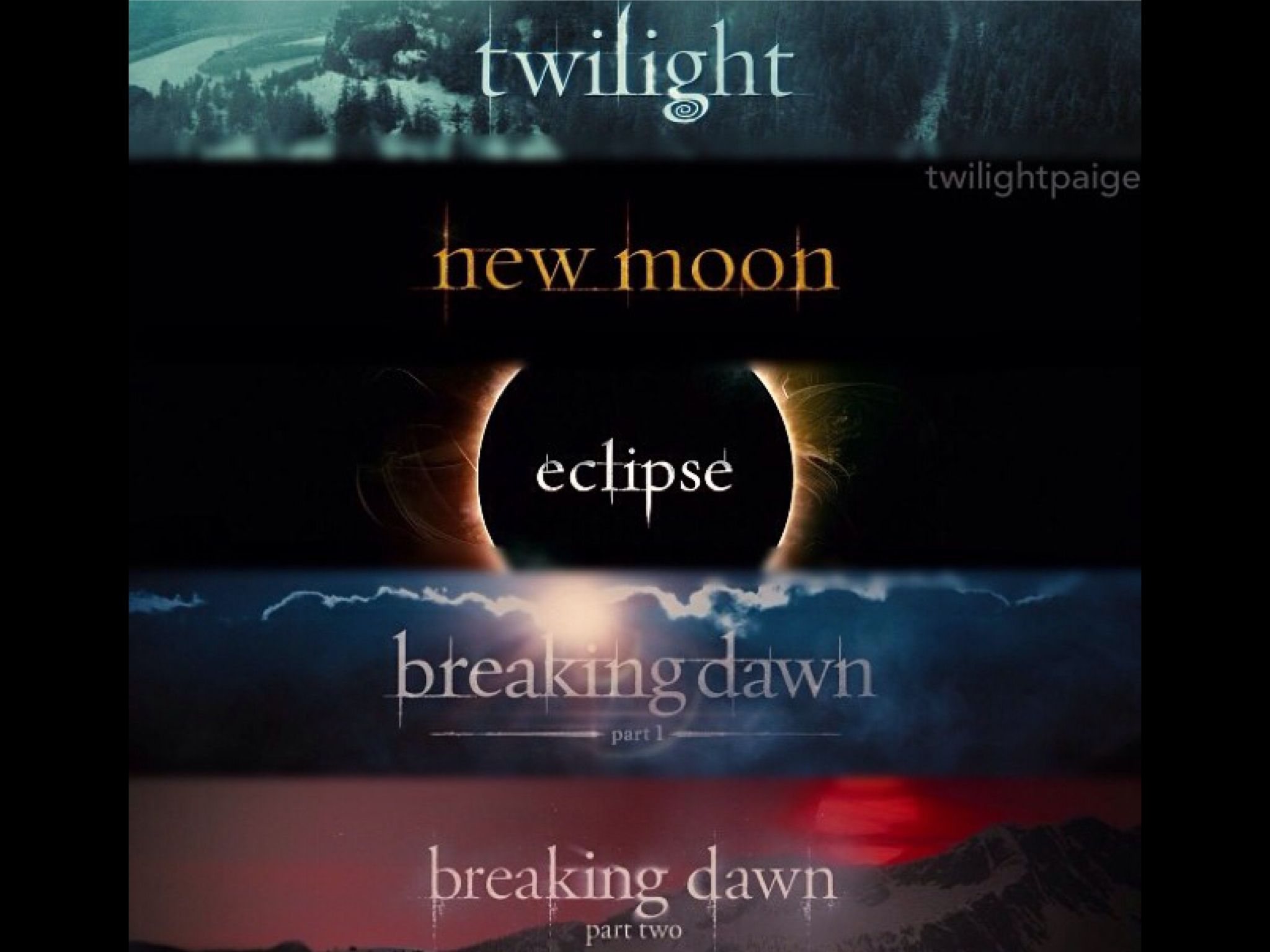 The Series Twilight, Twilight new moon, Twilight pictures