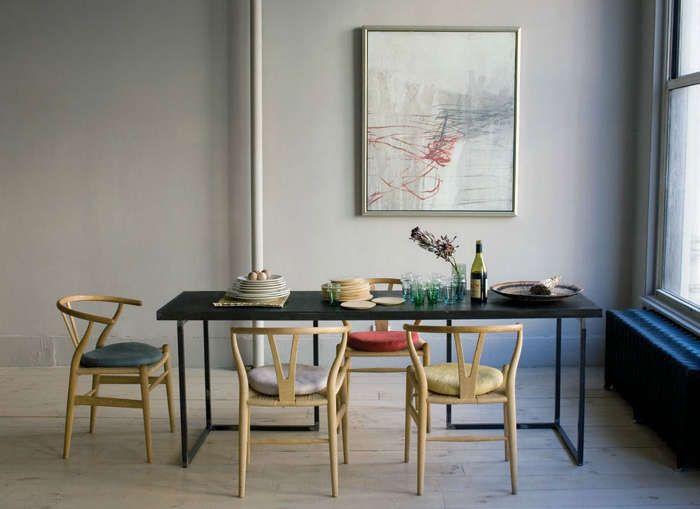 beautiful minimalist furniture pinterest wishbone chair chair rh pinterest com