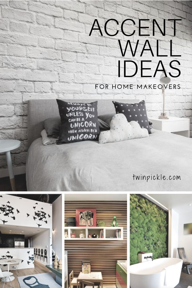 Accent Wall Ideas: Naptime Makeover | Wall ideas, Easy and Interiors