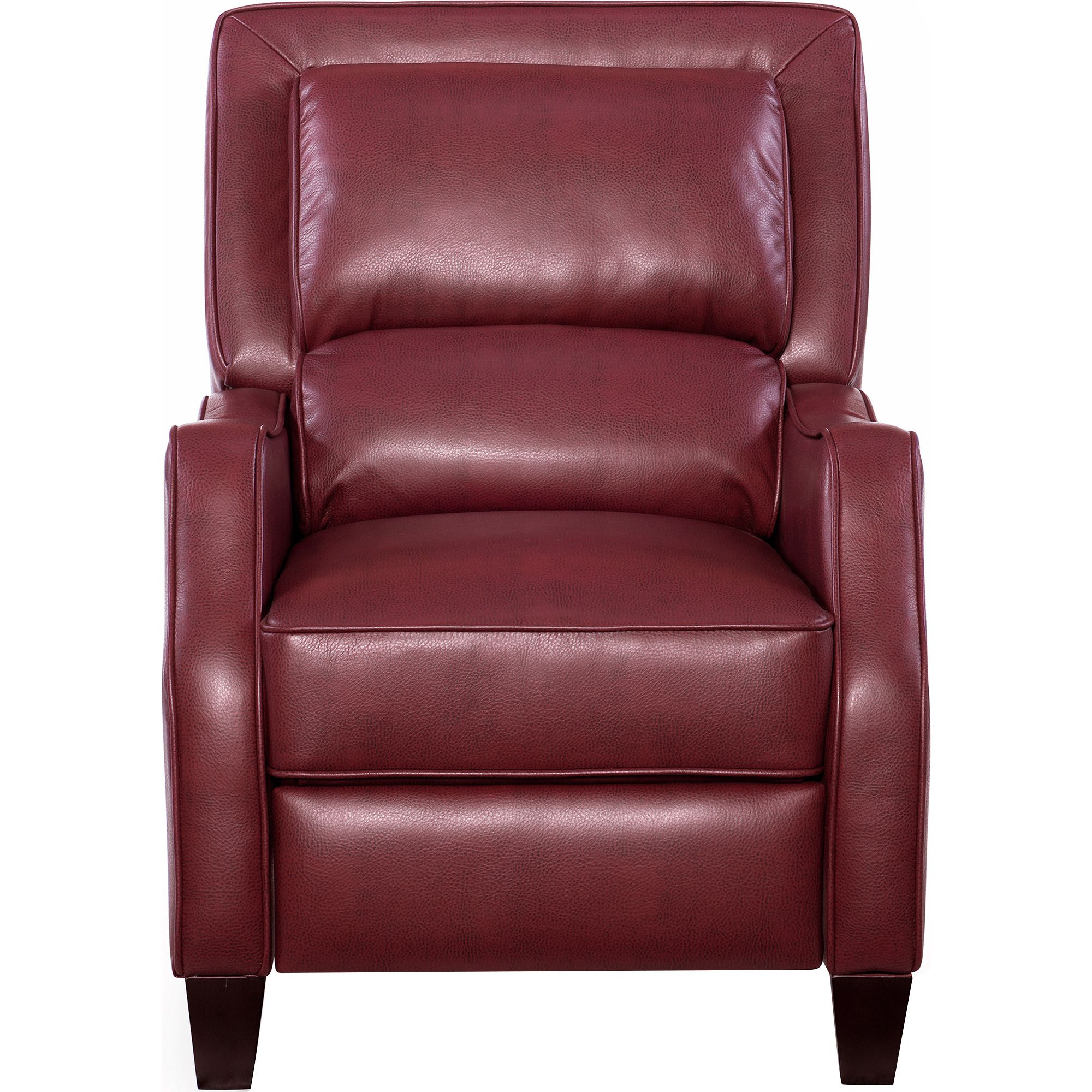 Duncan Recliner in Red   Opulence Home Furniture   Home Gallery Stores