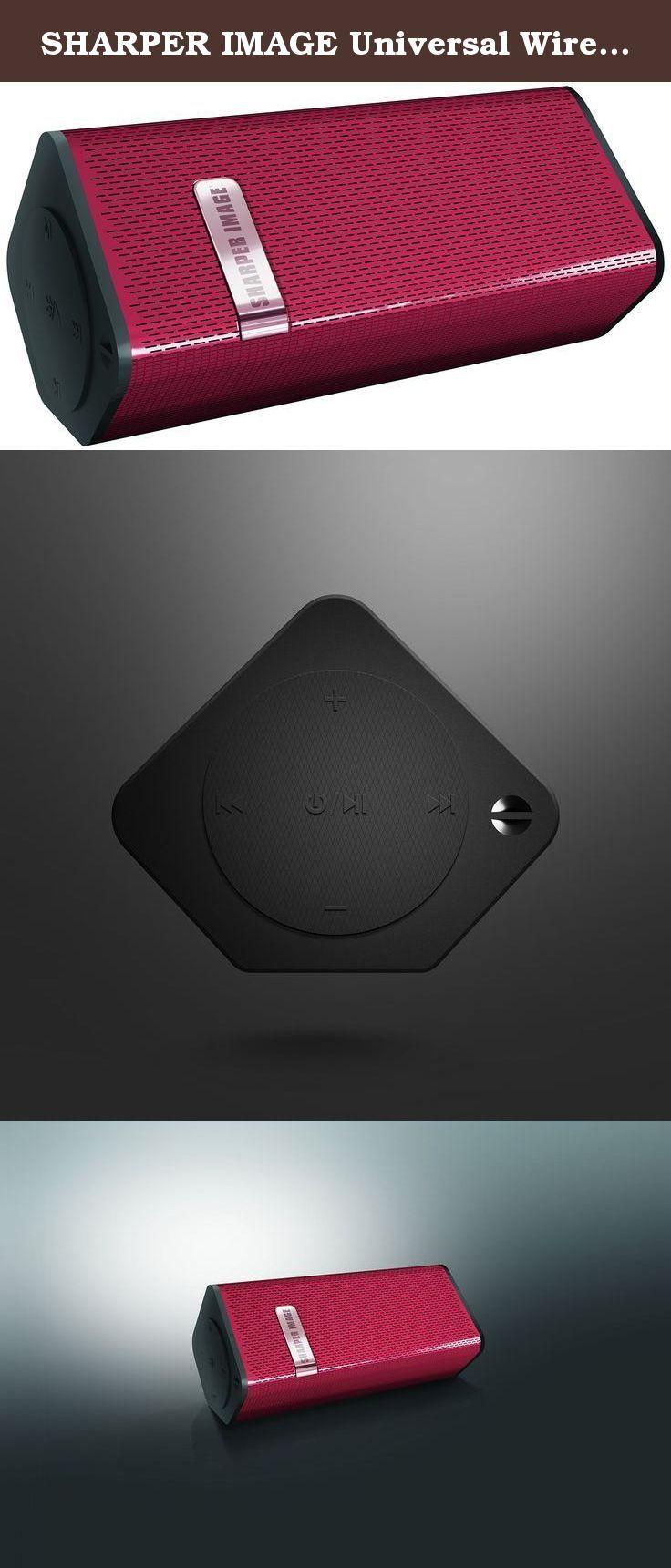 Sharper Image Universal Wireless Premium Bluetooth Speak Portable
