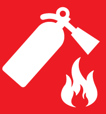 Fire Extinguisher Icon Sign Fire Extinguisher Fire Fire Safety