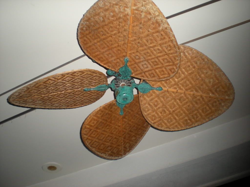 British Colonial Paddle Ceiling Fan In The Days Of The British