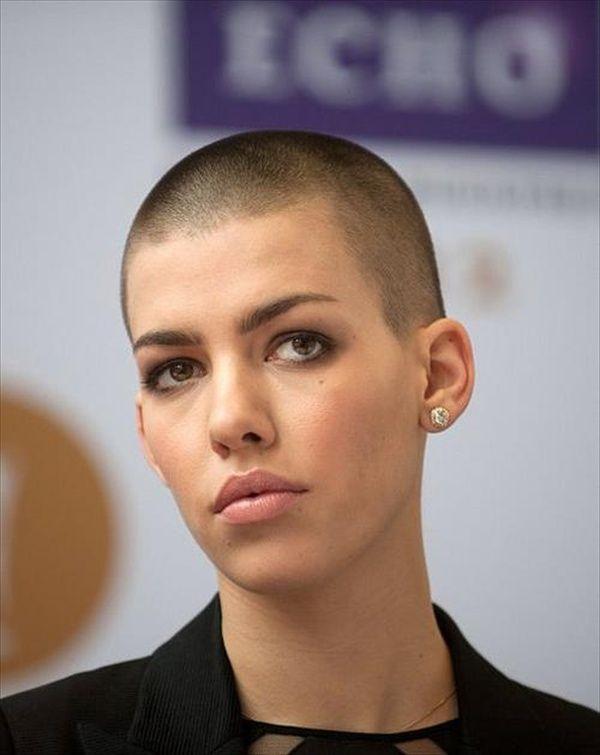 Buzz cut hair lesbians